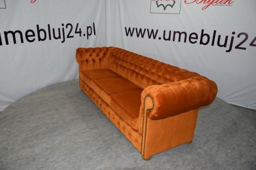 Sofa Chesterfield Clic 4 Os Tkanina