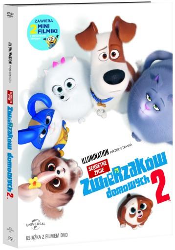 SEKRETNE ŻYCIE ZWIERZAKÓW DOMOWYCH 2 [ DVD ]