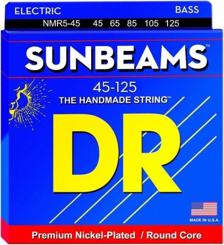 Struny basowe 45-125 DR Sunbeam NMR5-45 BASSWORLD