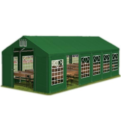 6x12m 2-3,09m Namiot ogrodowy handlowy całoroczny
