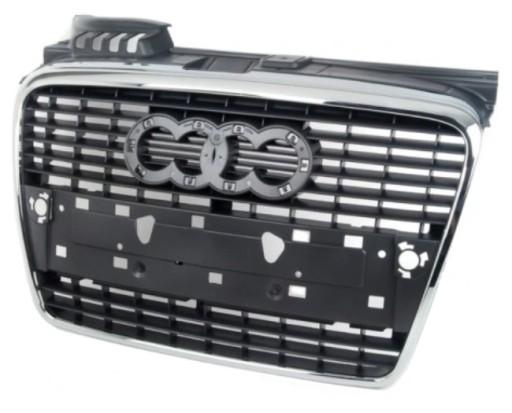 AUDI A4 B7 решетка-гриль хром передняя НОВЫЙ 04-08