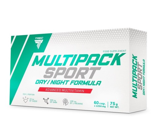 TREC MULTIPACK SPORT DAY NIGHT WITAMINY MULTIPLE