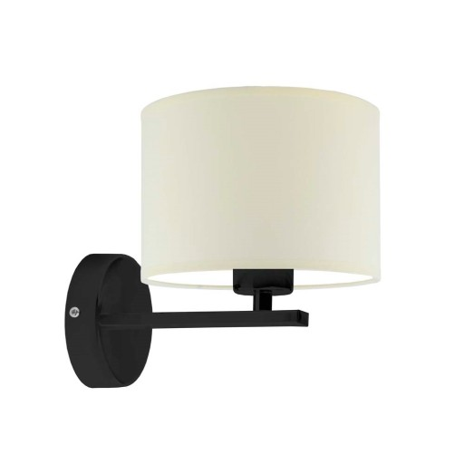 kinkiet SIMPLE lampa ścienna abażur walec producen