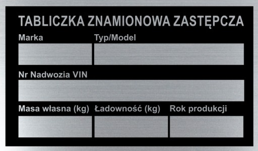 TABLE TABLE NAME ZASTEPCZA
