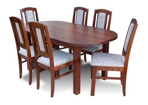 stoły owalne i krzesła