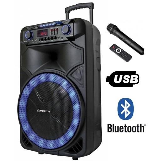 Glosnik Manta Spk 5023 Karaoke Mikrofon Pilot 8042137183 Sklep Internetowy Agd Rtv Telefony Laptopy Allegro Pl