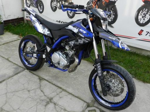 Yamaha Wr 125 X Okleina Naklejki Pimpstar Okleiny Ostrow Wielkopolski Allegro Pl