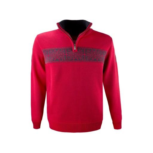 Sweter norweski KAMA 100% Wełna Merino Made in CZ