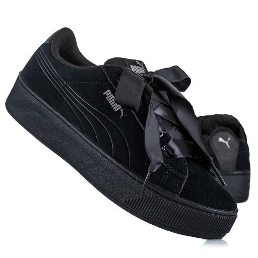 Sneakersy PUMA Vikky Platform Ribbon 366815 03
