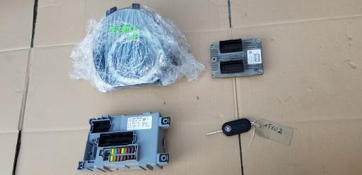 FIAT 500 1.2 8V BLOKAS.KOMPIUTERIS.RINKINYS.BSI. 2007-15