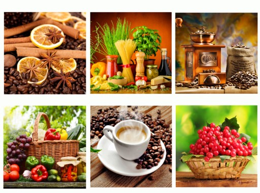 Obrazy Na Płótnie Do Kuchni 30x30 Owoce Wzory