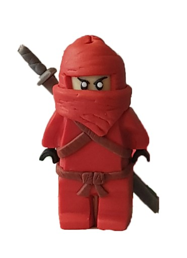 Figurka 3d Lego Ninjago Z Cukru Na Tort 8416153522 Allegro Pl
