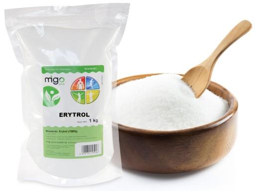 ERYTROL niskokaloryczny cukier ERYTRYTOL 1KG
