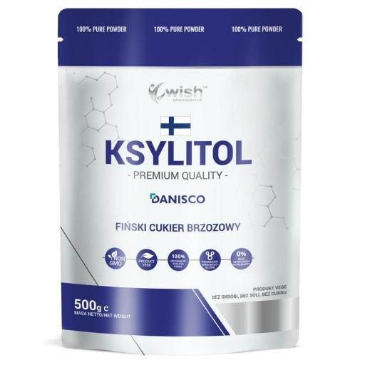 KSYLITOL 100% FIŃSKI CUKIER BRZOZOWY DANISCO 1kg