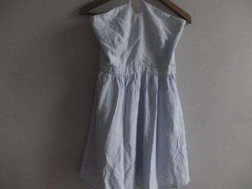 NAF NAF śliczna pastelowa sukienka na lato r.38
