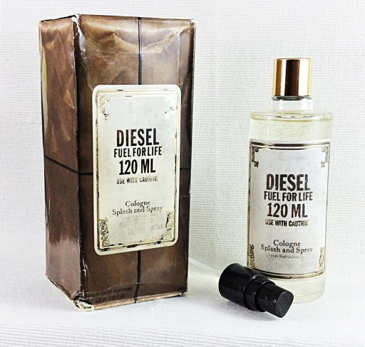 diesel fuel for life cologne for men