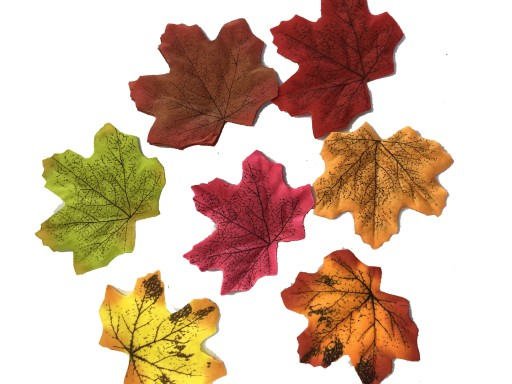 Liscie Jesienne Kolorowe Listka Dekoracja Lisc 6sz 8688994040 Allegro Pl