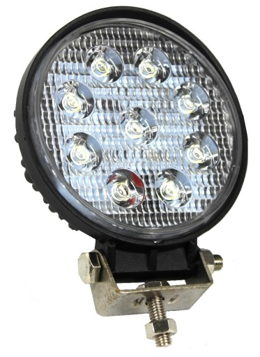 WORKING LIGHT 9 LED ROUND HALOGEN MEGA ROBUST