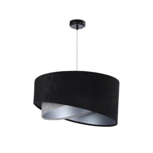 Lampa Wisząca Salon Sypialnia Duży Abażur Fi50