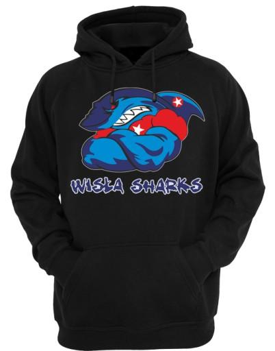 Wisla Sharks Wisla Krakow Bluza Z Kapturem Xxl 7940759259 Allegro Pl