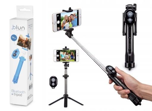 Kijek Do Selfie Stick Tripod Statyw Pilot Bluetoot 7570430777 Sklep Internetowy Agd Rtv Telefony Laptopy Allegro Pl