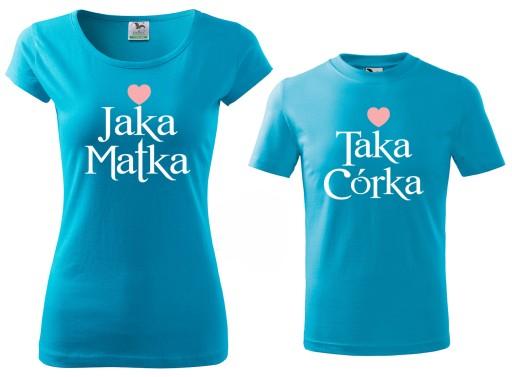 Zestaw Koszulek Koszulki Dla Mamy I Corki Prezent 8966716330 Allegro Pl