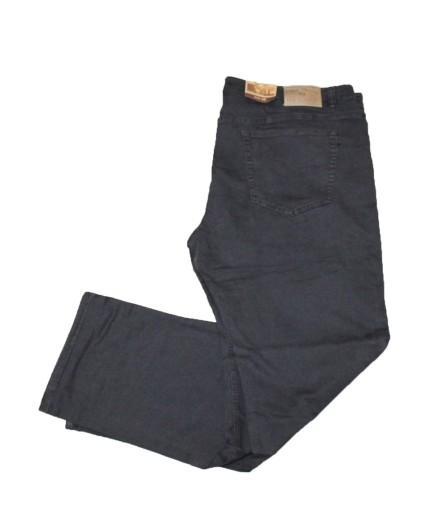 2XL BIG MEN DUŻE SPODNIE MATERIAŁ CHINO BRĄZ 108 10731651127 Odzież Męska Spodnie MT OEIUMT-8