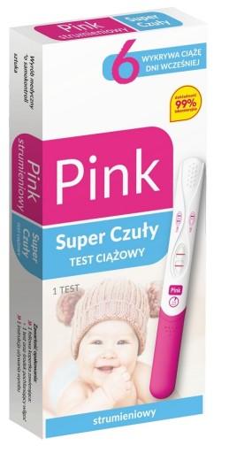 Strumieniowy Test Ciazowy Pink Juz 2dni Postosunku 7272521595 Allegro Pl