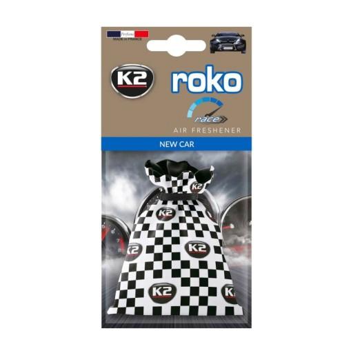 K2 ROKO RACE zapach NOWY SAMOCHÓD NEW CAR woreczek