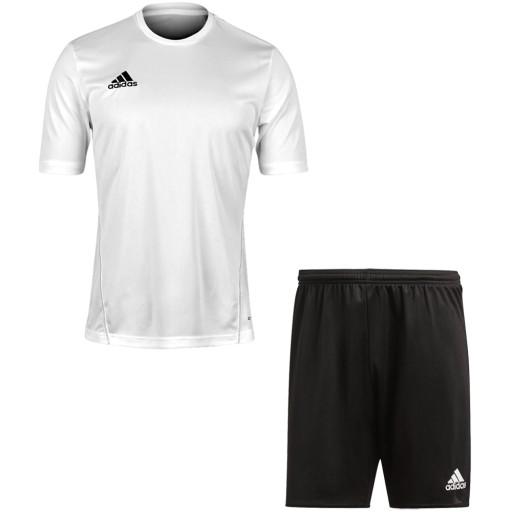 Komplet sportowy koszulka spodenki ADIDAS - r.140