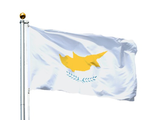 Flaga Cypr 90X60 cm Flagi Cypru Cyprus Zypern 7284119693 - Allegro.pl