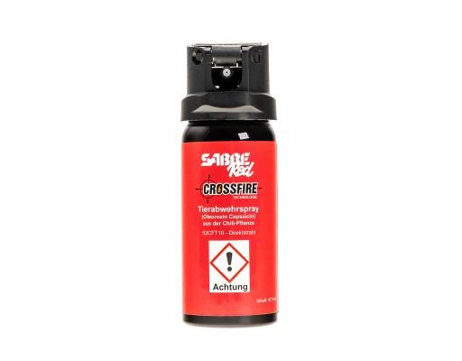 Gaz pieprzowy Sabre Red Crossfire 47,9 ml strumień