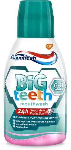 AQUAFRESH Big Teeth płyn do płukania jamy ustnej