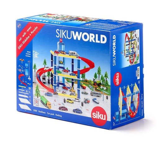 Siku World 5505 Garaż Parking 3 Poziomowy Nowy 7409535963 Allegropl