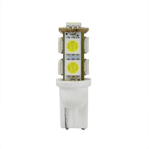 LEMPUTE AUTOMOBILIU T10 2W SALTA Biel SMD LED