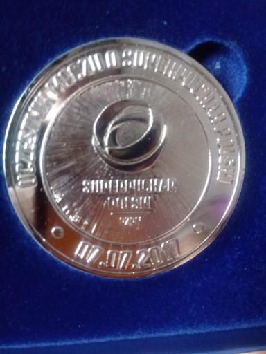 Legia Warszawa Medal Unikat Pilka Nozna 8968253040 Allegro Pl