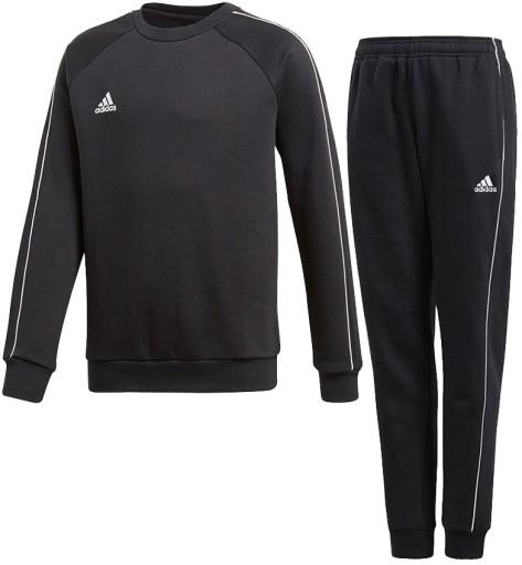 Dres adidas Core 18 bluza + spodnie komplet r 128