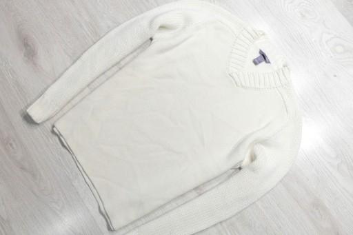 H&M _ ZNAKOMITY CIEPŁY SWETER Z LOGO _ L/XL 10763833569 Odzież Męska Swetry QD GEKNQD-2