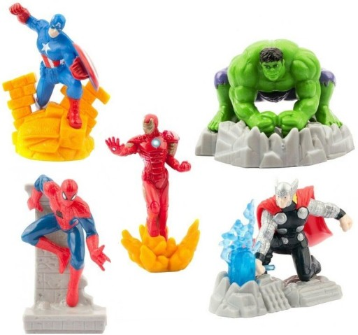 Figurki Marvel Avengers - Thor, Hulk, Iron Man ...