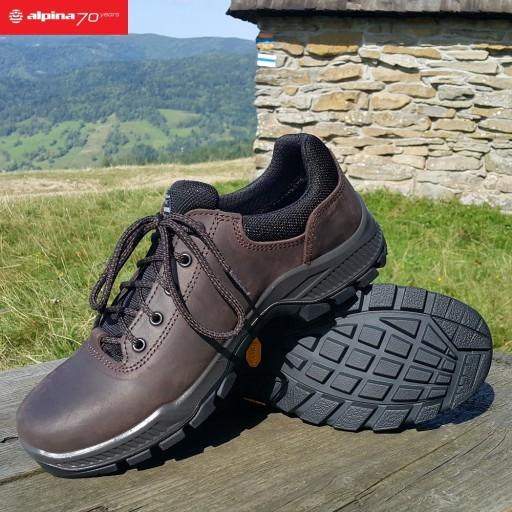 ALPINA PRIMA LOW Trekkingowe VIBRAM 100%EU r.41