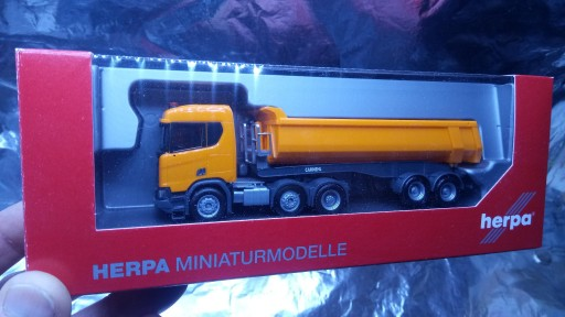 309394 Scania CR ND XT 6x2 dump semitrailer 1:87