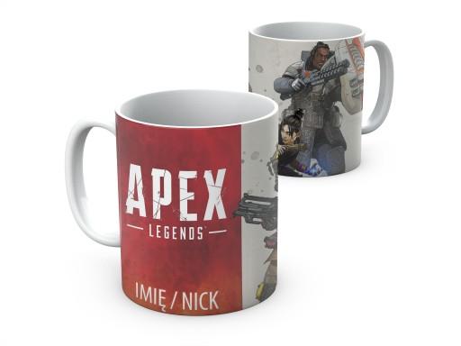 Kubek Apex Legends battle royale + imię nick 330ml