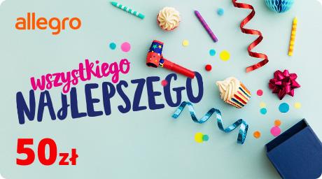 Karta Podarunkowa Urodziny - 50 zł