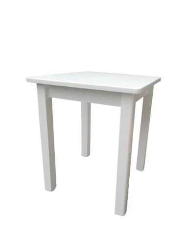 Stół Kuchenny Biały 65 X 65 Stoły Na Wymiar