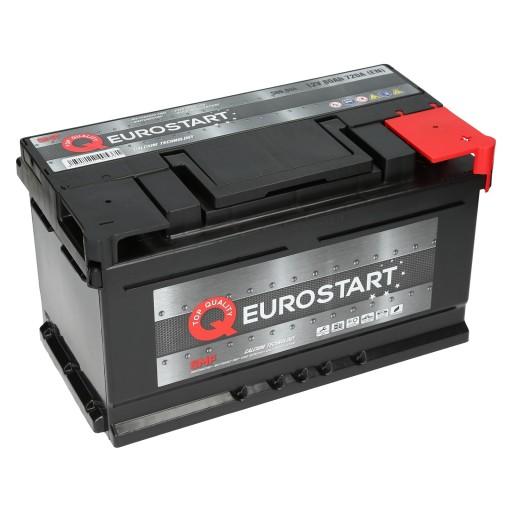 Akumulator Eurostart Smf 12v 80ah 720a En Zielona Gora Allegro Pl