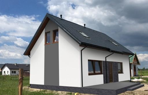 Dom Bez Pozwolenia Projekt Domu 35 M2 8819290943 Allegro Pl