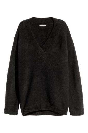 H&M Sweter z dekoltem w serek rozm. 40 L