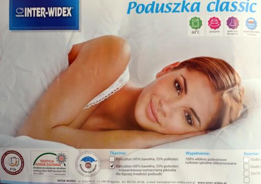 Poduszka INTER-WIDEX CLASSIC 40x40 Producent I-Gat