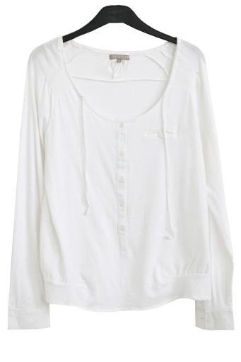 Bluzka bawełniana cienka letnia oversize 1830 42