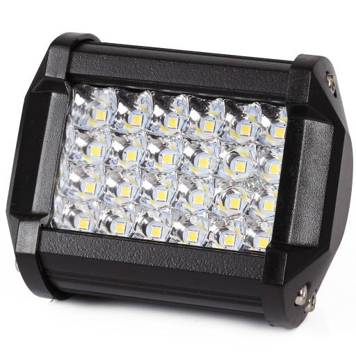 Светодиодная рабочая лампа 24 LED ГАЛОГЕННЫЕ ПРОЖЕКТОРА 72W МИНИ